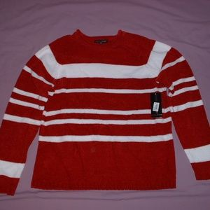 Debbie Morgan Womens Size M Pullover Sweater Red W